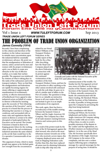 Trade Union Left Forum Pamphlet Vol 1 Issue 2