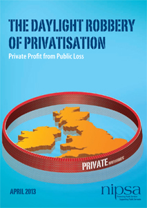 The Daylight Robbery of Privatisation- Private Profit from Public Loss