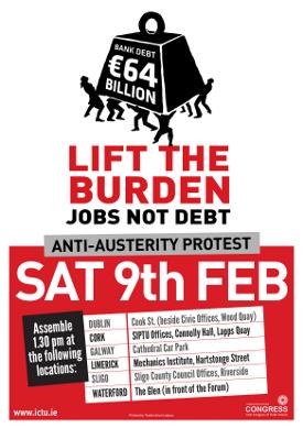Anti-Austerity Protest - Sat 9th Feb