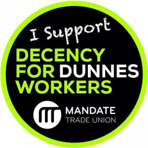 I support Decency for Dunnes